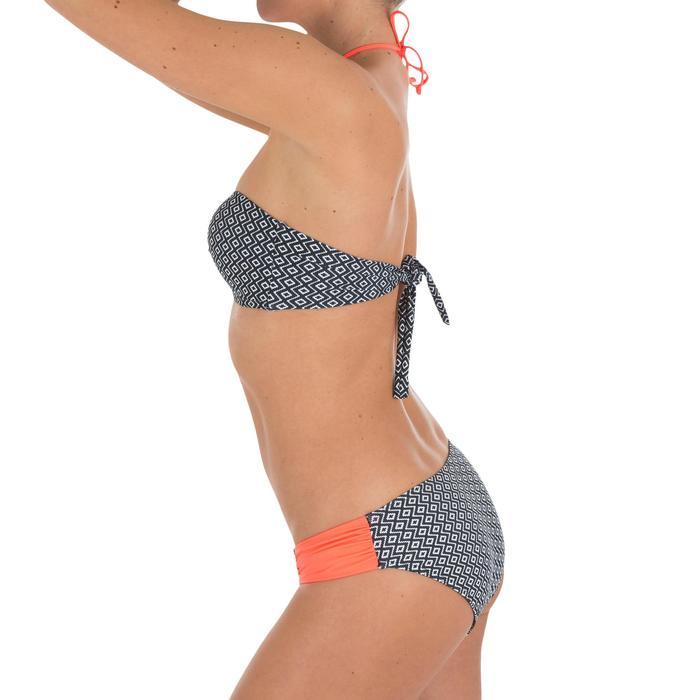 Bas de maillot de bain femme culotte NIKI COLORB avec fronces côté - 710998