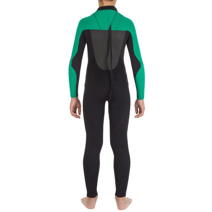 Combinaison Surf 500 Néoprène 4/3 mm Enfant verte - 7110