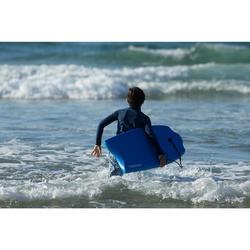 "Bodyboard 100 Niños Azul 6-12 Años 35"" + Leash"