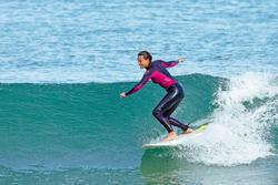 Dames surfpak 900 neopreen 3/2 mm fuchsia - 711047