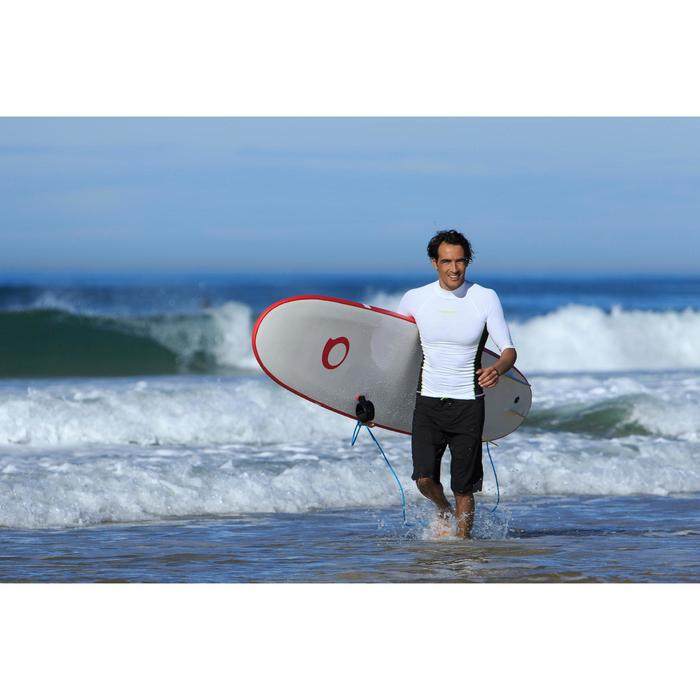 tee shirt anti uv surf top 500 manches courtes homme - 711053
