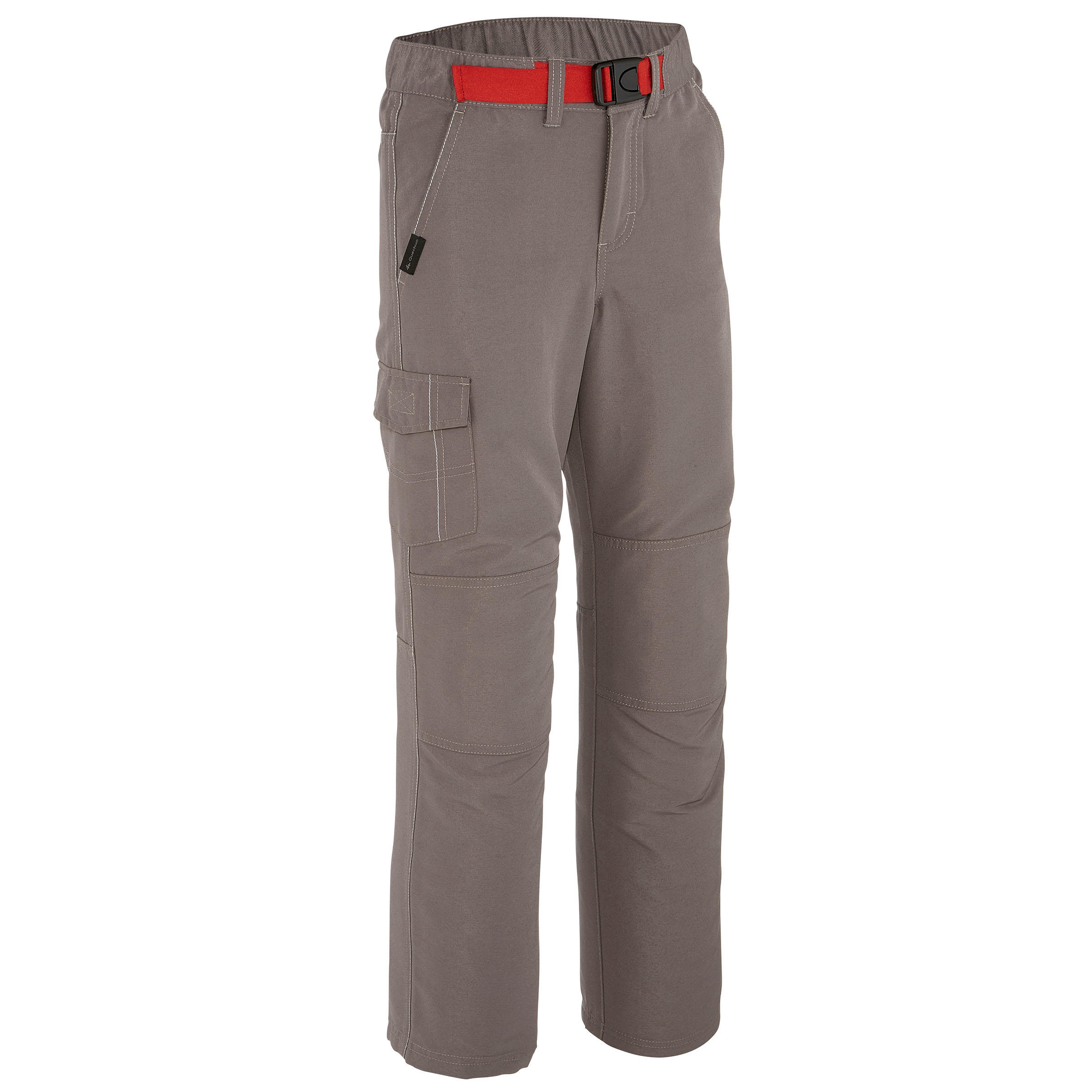 Boys' Hiking Trousers Hike 100 - Grey