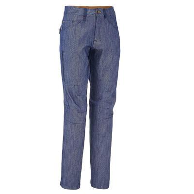 Arpenaz 100 Men's Hiking Trousers - Denim