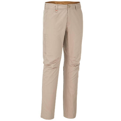 Arpenaz 100 Hiking Trousers - Beige