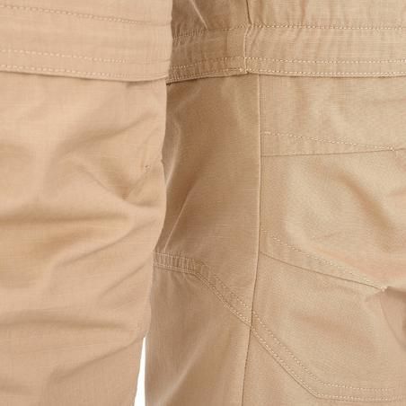Travel 100 Men's Zip-Off Pants - Beige