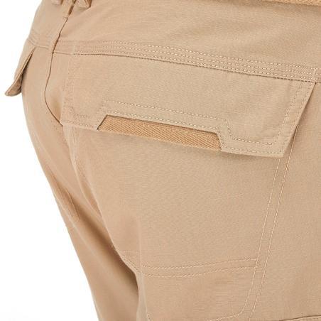 Pantalon modulable VOYAGE 100 HOMME BEIGE