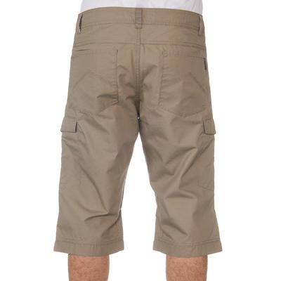 Pantalón 3/4 Excursionismo Hombre Arpenaz 100 Beige