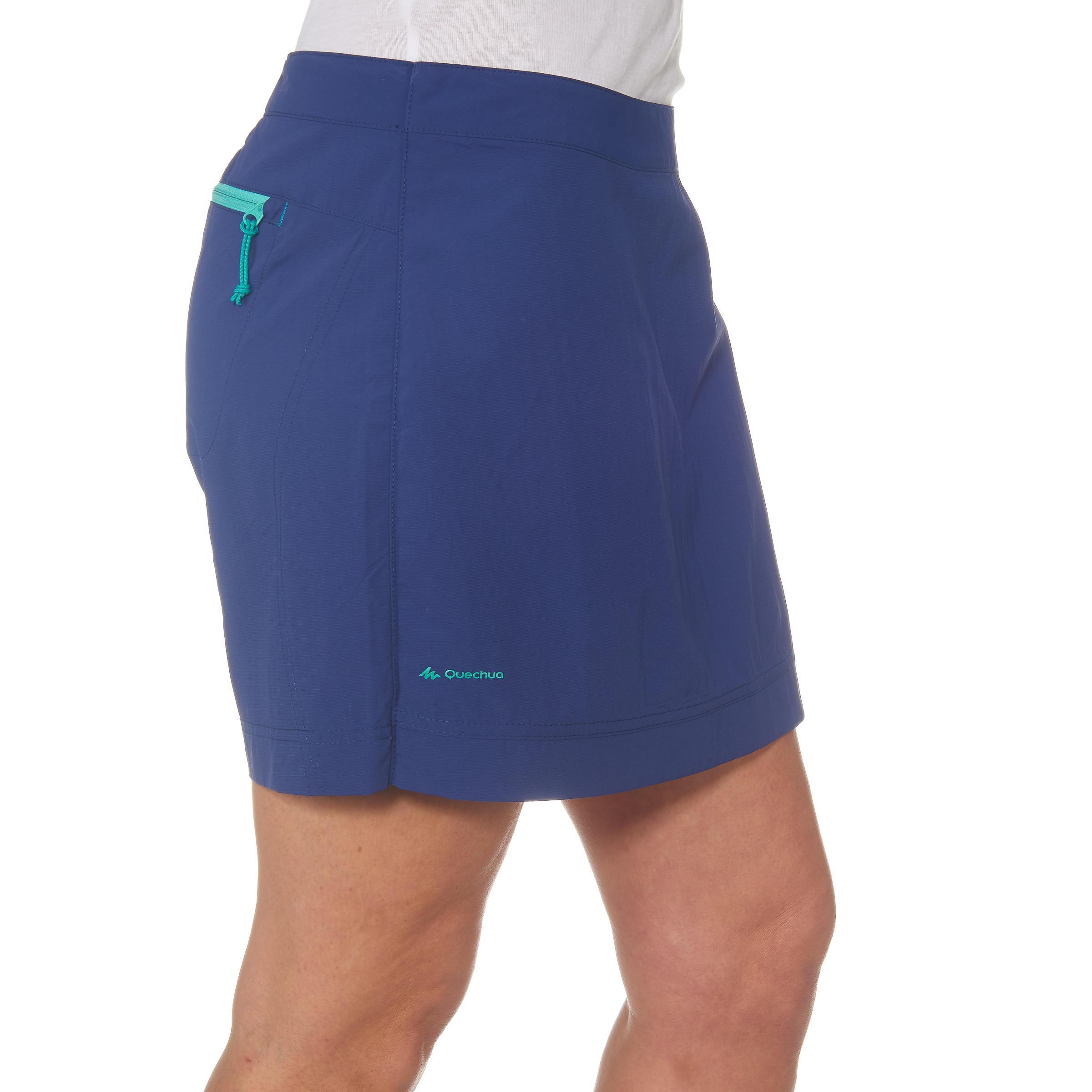Jupe Bleu Decathlon Short Martinique Randonnée Forclaz Femme 100 SzVUMp