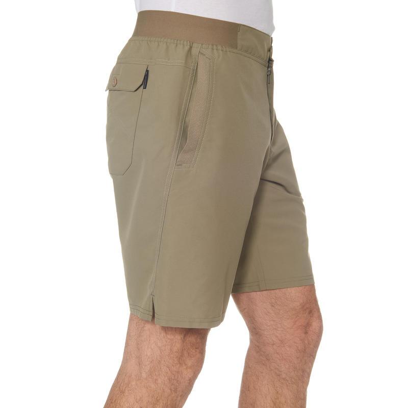 Men's Hiking Shorts NH100 - Beige