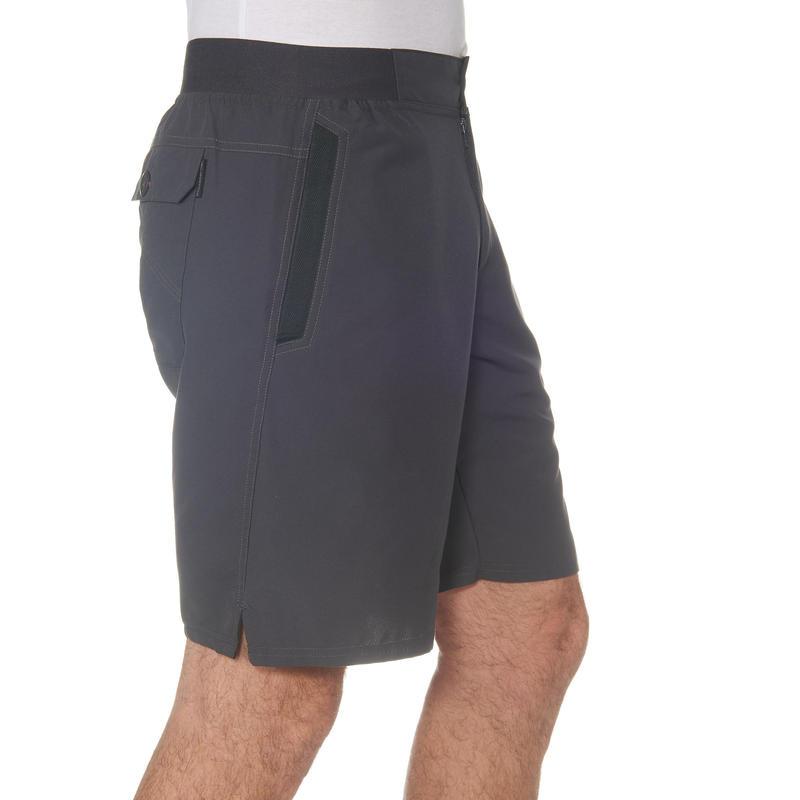Men's Hiking Shorts NH100 - Grey