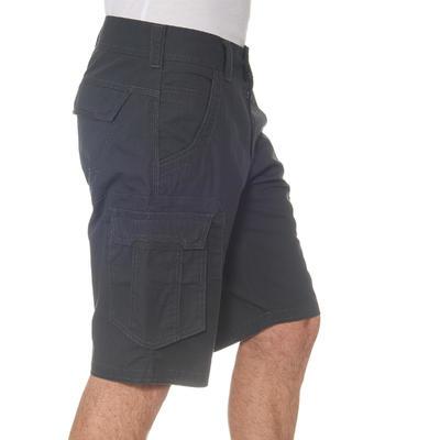 Men's Arpenaz 500 cargo grey trekking shorts