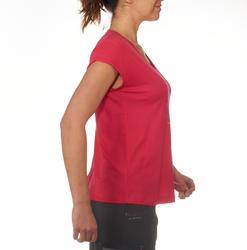 T-shirt korte mouwen trekking dames Arpenaz 100 - 711531