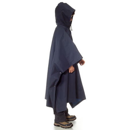 Arpenaz 10 L Hiking Rain Poncho - Kids