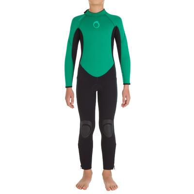 Surf 100 Kids' 4/3 mm Neoprene Wetsuit