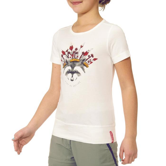T-Shirt de randonnée enfant fille Hike 500 hibou - 711612