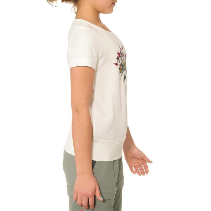 T-Shirt de randonnée enfant fille Hike 500 hibou - 711615
