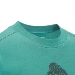 Jongens T-shirt voor wandelen Hike 500 - 711675