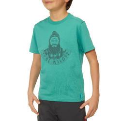 Jongens T-shirt voor wandelen Hike 500 - 711679