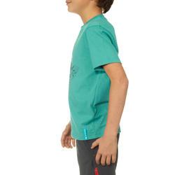 Jongens T-shirt voor wandelen Hike 500 - 711681