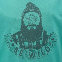 Jongens T-shirt voor wandelen Hike 500 - 711685