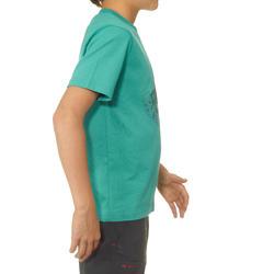 Jongens T-shirt voor wandelen Hike 500 - 711686
