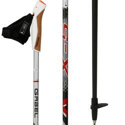 Nordic walking stokken X-5 zwart/grijs/rood