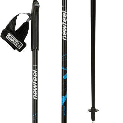 Nordic walking poles PW P100 black / blue