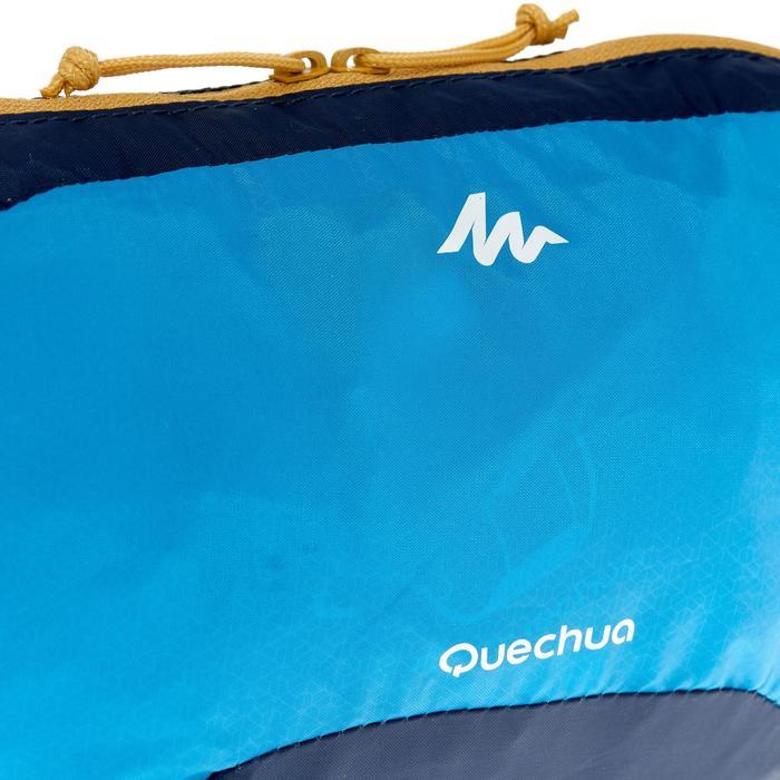 Riñonera Montaña Trekking Viaje Quechua Forclaz Ultracompacta Azul