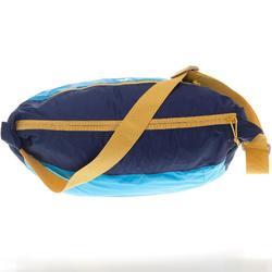 極輕巧旅行郵差包-藍色
