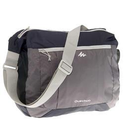 Ultra-Compact Travel Satchel - Grey