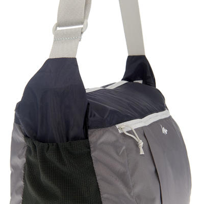 Bolso terciado TRAVEL ultracompacto gris