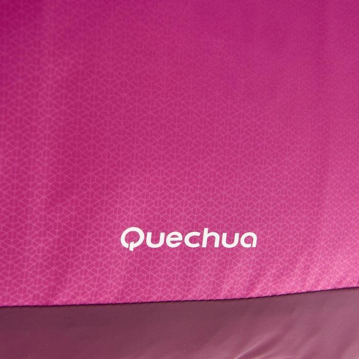 Compacte schoudertas voor trekking violet