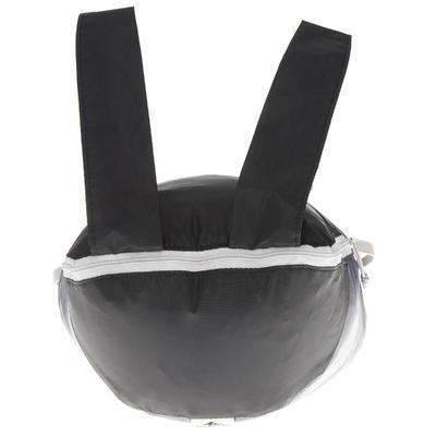 Morral auxiliar ultracompacto 10 litros Negro