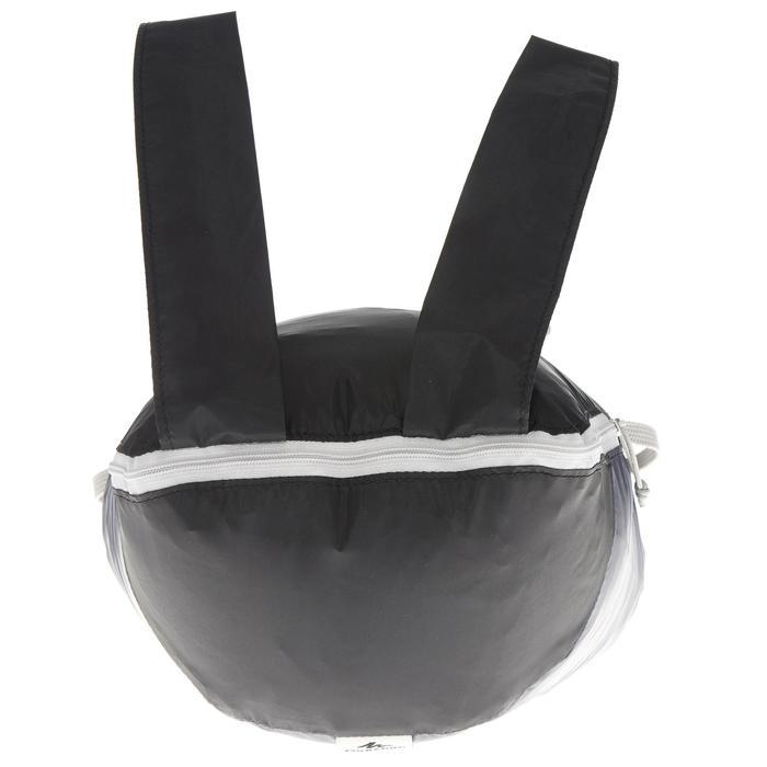 Mochila TRAVEL ultra compacta 10 litros negro