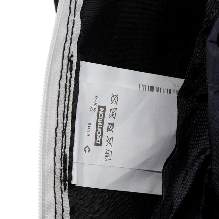 Extra compacte rugzak van 10 liter zwart
