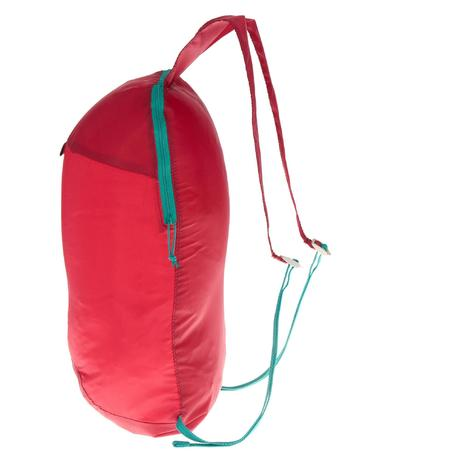 sac dos d 39 appoint ultra compact 10 litres rose quechua. Black Bedroom Furniture Sets. Home Design Ideas
