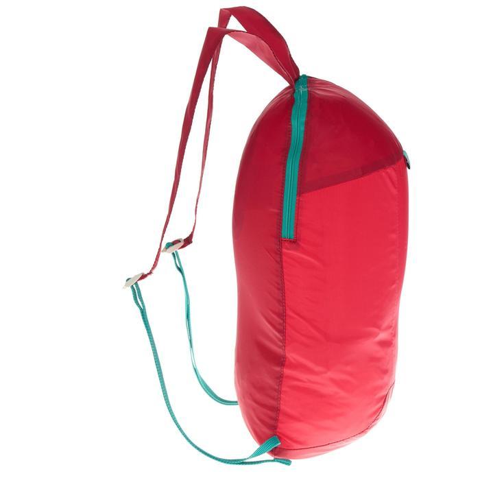 Mochila auxiliar ultra compacta 10 litros Rosa