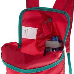 Rucksack Travel ultrakompakt 10 l rosa