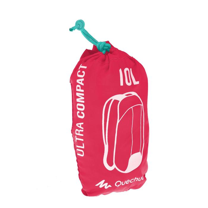 Ultra-Compact 10 litres Extra Backpack - Pink
