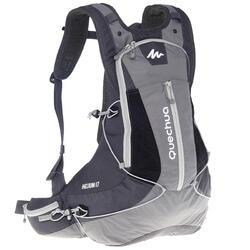 Rugzak voor fast hiking FH900 17 liter grijs/zwart