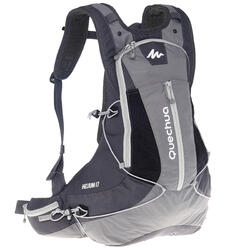 Rugzak voor fast hiking FH900 Helium 17 liter grijs/zwart