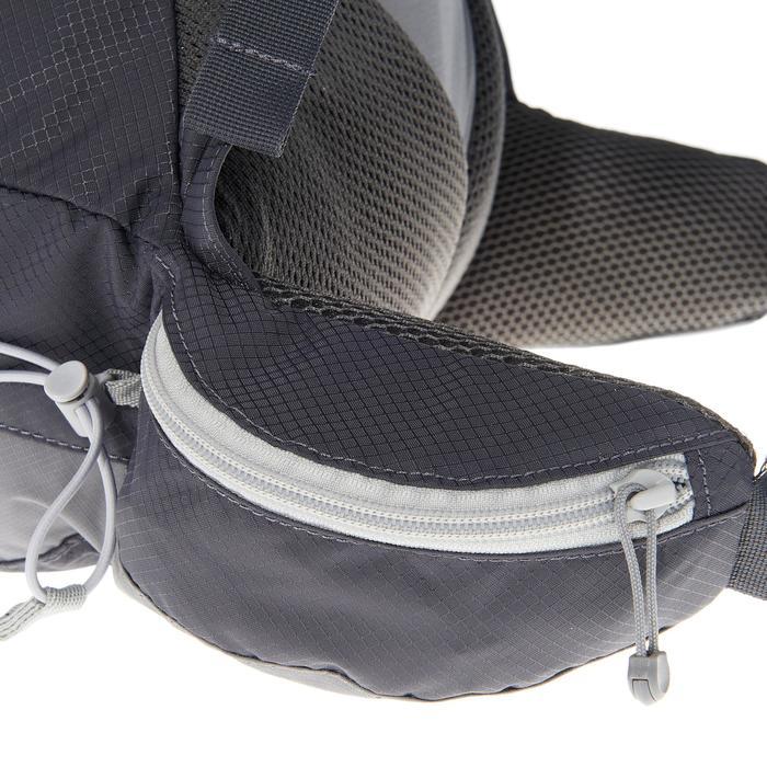 極速健行背包17 L FH900 HELIUM-灰色/黑色。