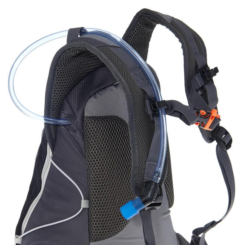 Mochila de senderismo rápido FH900 Helium 17 litros Gris/Negro
