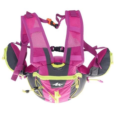 sac dos de randonn e rapide ou fast hicking helium 10l violet quechua. Black Bedroom Furniture Sets. Home Design Ideas