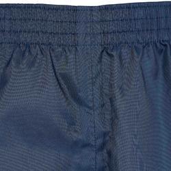 Regenhose Wandern MH100 Kinder 7 bis 15 Jahre marineblau