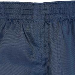 Überziehhose Regenhose Hike 100 Kinder marineblau
