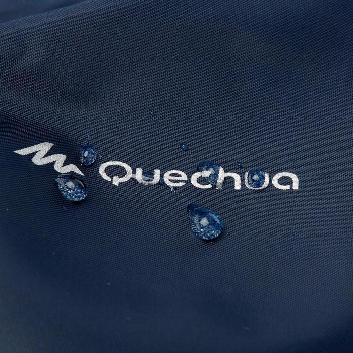 Sobrepantalón impermeable de senderismo júnior MH100 azul marino 7 a 15 AÑOS