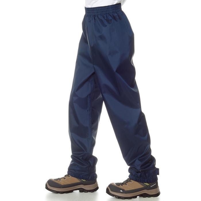 Surpantalon imperméable de randonnée enfant Hike 100 Marine - 712398