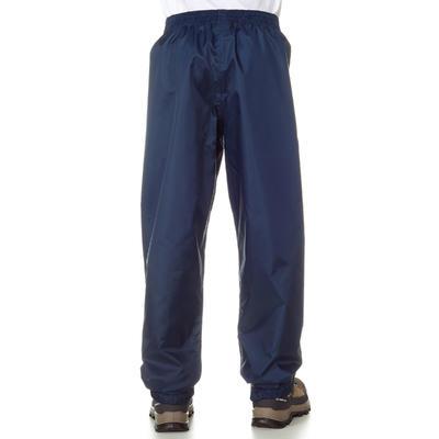 מכנסי טיולים חסיני מים דגם MH100 לילדים - כחול צי - מידות 7 עד 15 שנים