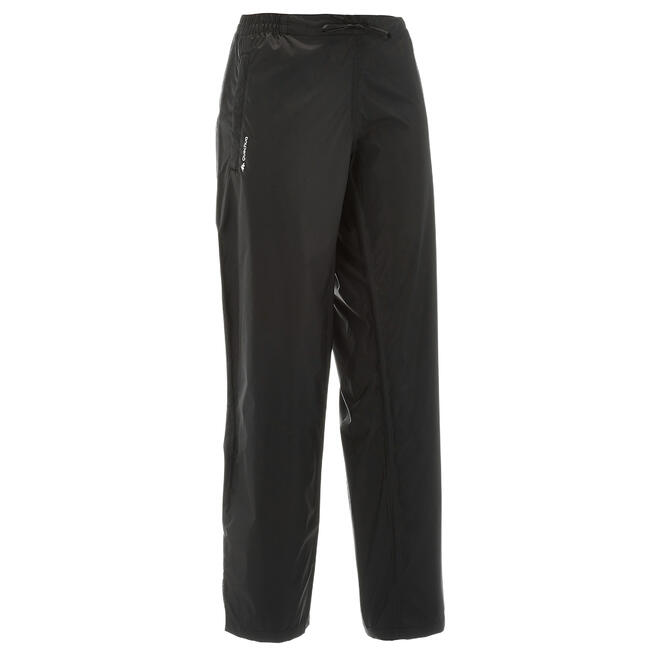 Women's NH500 waterproof off-road hiking over-trousers